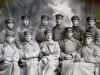 Группа Комвузовцев в военном лагере. 1929 год.