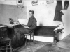 Ростков Александр Иванович – студент 2 курса Саратовского Комвуза. В общежитии. 07.03.1929 год.