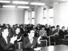 Встреча слушателей 1-го курса 4-х годичного отделения Саратовской ВПШ с выпускниками  30-х  годов Саратовского комвуза, посвященной  70-летию Великой Октябрьской социалистической революции. 30 октября 1987 год.