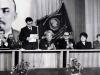 Ректор ВПШ В.А. Родионов  приветствует гостей из Калмыкии