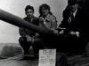 Слушатели ВПШ во время ознакомления  с боевой техникой в одной из воинских частей